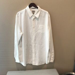 NWOT L L Bean Linen Button Down Shirt 👕